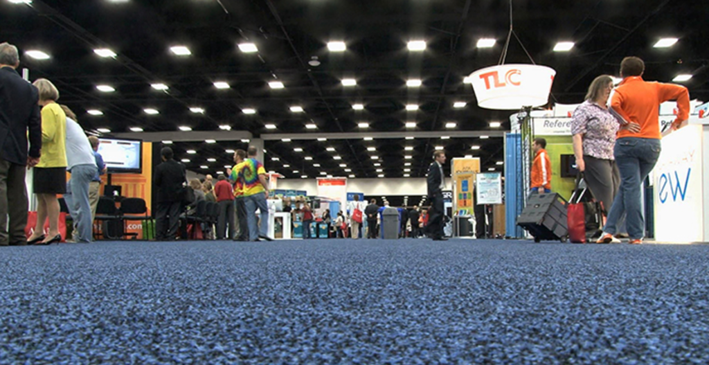 Exhibitions can be a good way to generate new business.