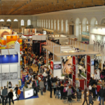 An industry conference or trade show
