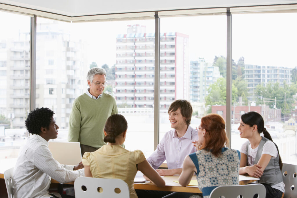 Give regular communications when implementing a change in company ownership
