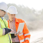 Supervisors at construction site